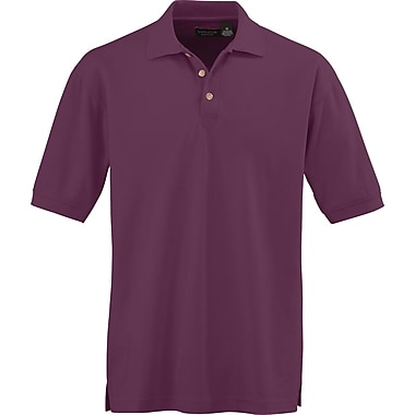 Medline Men XL Whisper Pique Polo Shirt, Wine (930WNEXL)