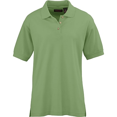 Medline Ladies Whisper Pique Polo Shirts, Apple Green, Medium