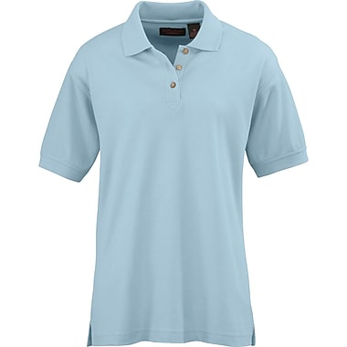 Medline Ladies Whisper Pique Polo Shirts, Light Blue, 2XL