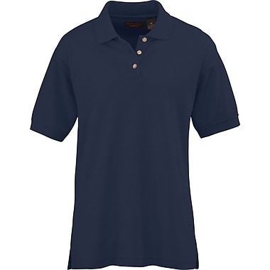 Medline Ladies Whisper Pique Polo Shirts, Navy, Large