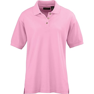 Medline Ladies Whisper Pique Polo Shirts, Pink, Large