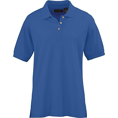 Medline Women XL Whisper Pique Polo Shirt, Royal Blue (931RYLXL)