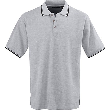 Medline Mens Rib Collar Polo Shirts