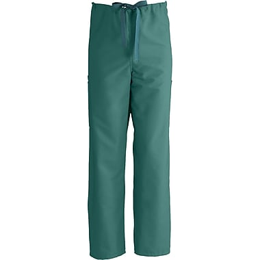 ComfortEase™ Unisex Non-Rev Drawstring Cargo Scrub Pants, Evergreen, MDL-CC, XL, Reg Length
