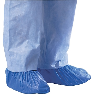 Medline Boundary Men Universal Boundary Shoe Covers, Blue (CRI2010)