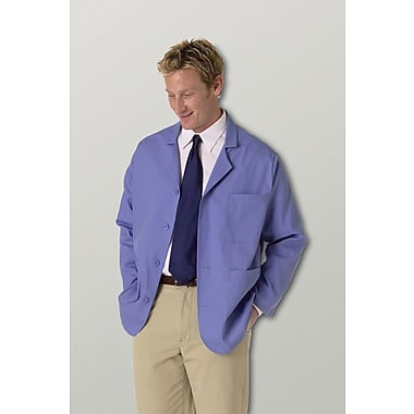 Medline Unisex Lapel Coats, Royal Blue, Large