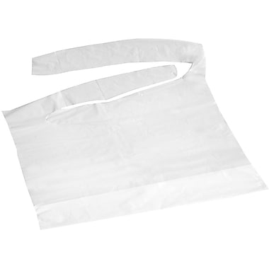 Medline Waterproof - Adult Bibs, White, 500/Case