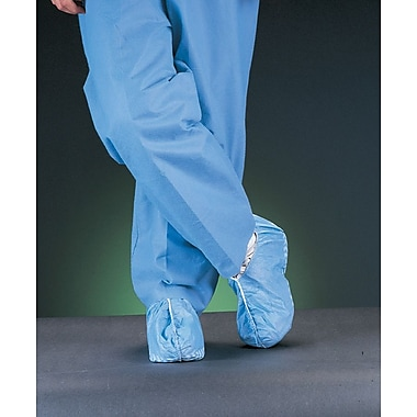 Medline Non-skid Multi-layer Shoe Covers, Blue, 200/Case