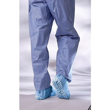 Medline Non-skid Multi-layer Shoe Covers, Blue, 100/Case