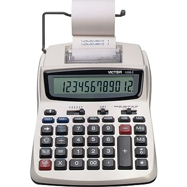 Victor® 12082 Printing Calculator, 12-Digit
