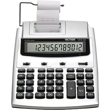 Victor® 12123A Commercial Printing Calculator, 12-Digit