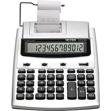Victor® - Calculatrice imprimante commerciale robuste 12123A à 12 chiffres