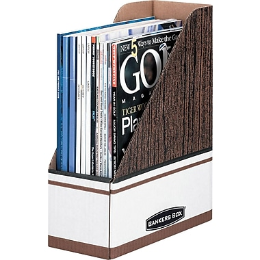 Bankers Box® Magazine File, 4/Pack