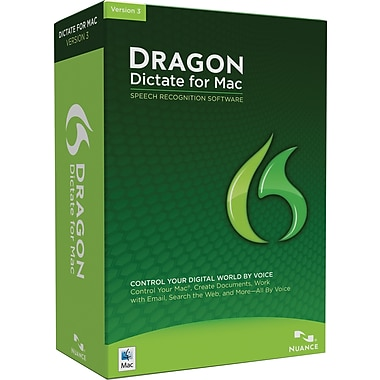 Dragon Dictate 3.0 for Mac (5-User) [Boxed]
