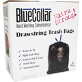 Heritage Blue Collar Trash Bags, Black, 30 gal.