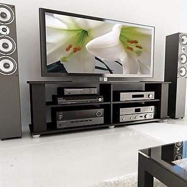 Sonax® Fillmore 58in. TV/Component Stand, Midnight Black