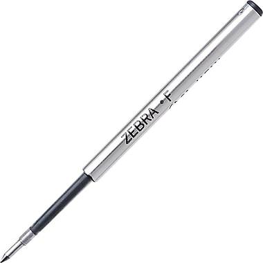 Zebra® Ballpoint Pen Refills, Fine, Blue, 2/Pack