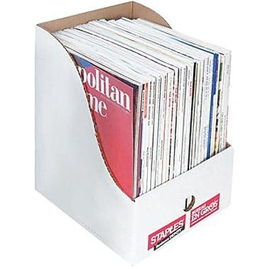 Staples® Extra-Wide Magazine Files, 11-3/4