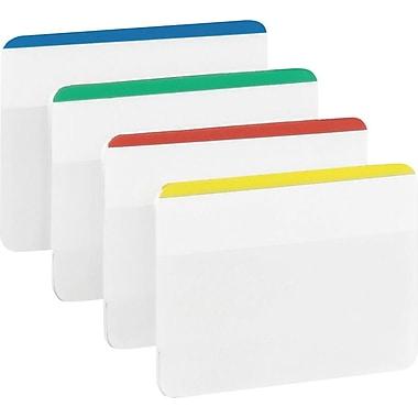 Post-it® - Onglets durables pour classement, 2 po, couleurs variées, paq./24
