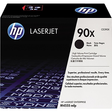 HP 90X (CE390X) Black High Yield Original LaserJet Toner Cartridge