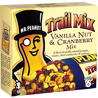 Planters Trail Mix, Vanilla Nut and Cranberry