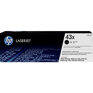 HP 43X Black Toner Cartridge (C8543X), High Yield