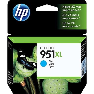 HP – Cartouche d'encre cyan 951XL, haut rendement (CN046AC)