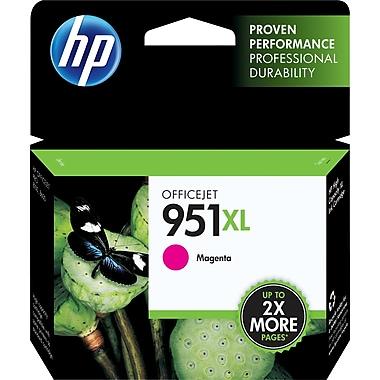 HP 951XL Cartouche d'encre magenta à rendement élevé d'origine (CN047AN)