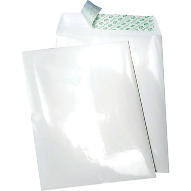 Quality Park Envelopes White Poly-Side-Out/Paper 10