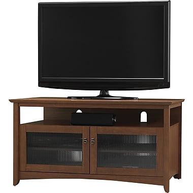 Bush® Buena Vista TV Stand (Fits up to 50in. TV), Serene Cherry
