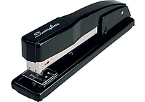 Swingline® Commercial Desktop Full Strip Stapler, 20 Sheet Capacity, Black