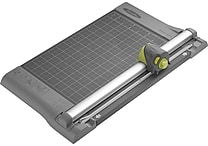 Swingline® SmartCut™ 12' Dial-A-Blade™ Rotary Paper Trimmer, 10 Sheet Capacity, Gray