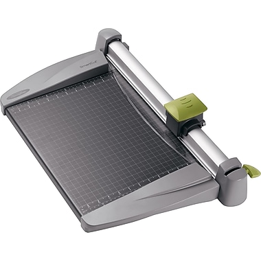 Swingline® SmartCut® 15in. Commercial Heavy-Duty Rotary Paper Trimmer, 30 Sheet Capacity, Gray