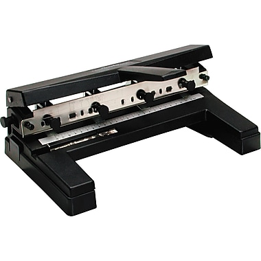 Swingline® Heavy-Duty Adjustable 2- to 4-Hole Punch, 40 Sheet Capacity