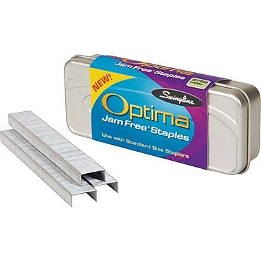 Swingline® Optima® Premium Staples, 1/4in.