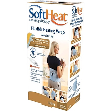 Soft Heat Flexible Heating Wrap, Moist or Dry