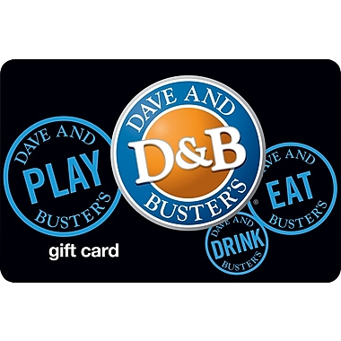 Dave & Busters Gift Card $50 (Email Delivery)
