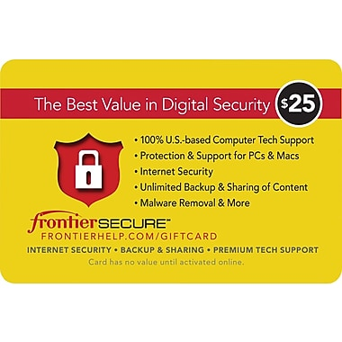 Frontier Secure Gift Card $50 (Email Delivery)