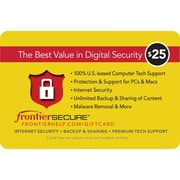 Frontier Secure Gift Cards