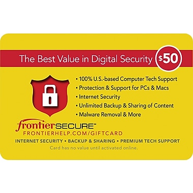 Frontier Secure Gift Card $50