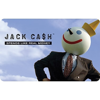 Jack n' the Box Gift Card $25