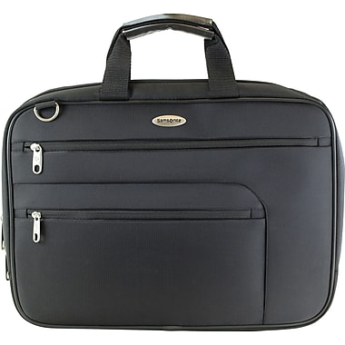 Samsonite Top Zip Portfolio/Computer Case, Black
