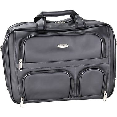 Samsonite Expandable Portfolio/Computer Case, Black