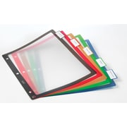 Staples® Better® Fixed Tab Dividers, 5-Tab, Mulitcolor, 1 set/pack