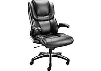 Staples McKee™ Luxura™ Managers Chair, Black