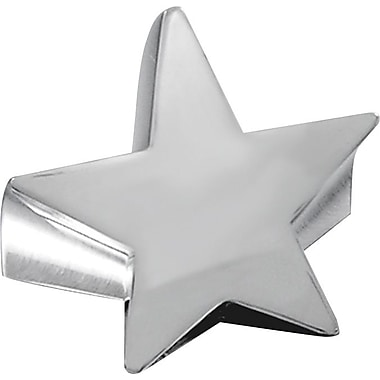 Baudville Silver Star Paperweight, Blank