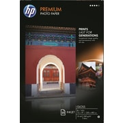 "HP Premium Photo Paper, 13"" x 19"", Glossy, 25/Pack"