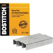 Stanley Bostitch Heavy-Duty Staples, 1/2""