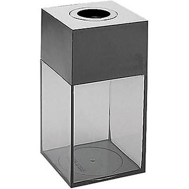 Staples® Magnetic Paper Clip Dispenser, 500 Clip Capacity, Black