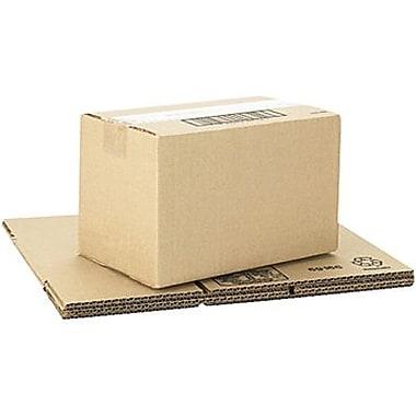 Boîtes en carton ondulé ICONEX/NCR kraft brun, 10 x 6 x 6 po, paq./25 (69166)